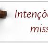 INTENÇÕES DE MISSA